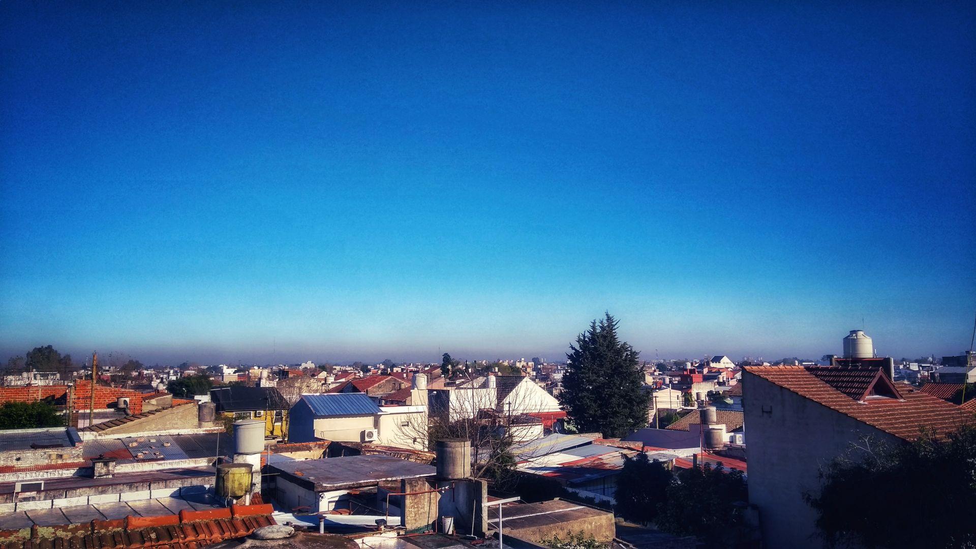 Mañana fría y soleada en San Fernando
